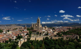 Segovia Catherdal Royalty Free Stock Images