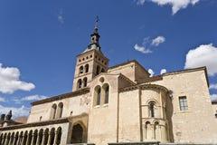 Segovia Church of San Martin Stock Photos