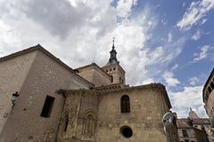 Segovia Church of San Martin Royalty Free Stock Image