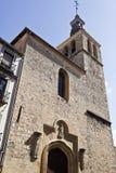 Segovia Church of San Miguel Royalty Free Stock Photo