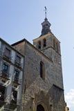 Segovia Church of San Miguel Stock Photos