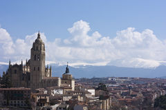 Segovia Cityscape Stock Photo