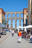 Segovia, cityscape Stock Photos