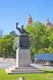 segovia Cocinero Candido Lopez del monumento Fotografía de archivo