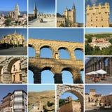 Segovia de visite Photo stock