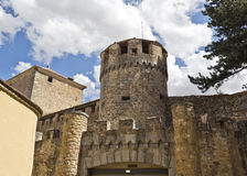 Segovia Fortress Tower Royalty Free Stock Images