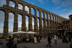 Segovia historical center Stock Photos
