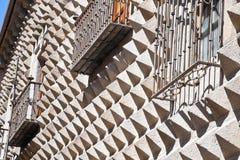 Segovia, houseis a peak Stock Photos