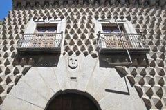 Segovia, houseis a peak Royalty Free Stock Photos