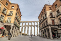 Segovia, Kastilien Leon, Spanien Lizenzfreie Stockfotos