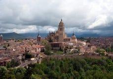 Segovia katedra Fotografia Royalty Free
