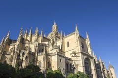 Segovia Katedra Zdjęcie Royalty Free