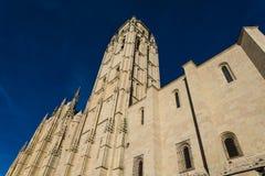 Segovia Kathedraal, Segovia, Castilla en Leon, Spanje stock foto
