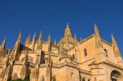 Segovia kathedraal, Spanje Stock Fotografie