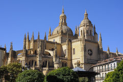 Segovia Kathedraal van Heilige Mary, Spanje Royalty-vrije Stock Foto