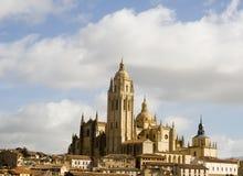 Segovia-Kathedrale Stockbild