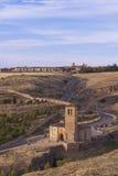 Segovia krajobraz Zdjęcie Stock