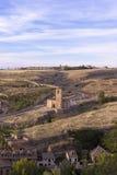 Segovia krajobraz Fotografia Royalty Free