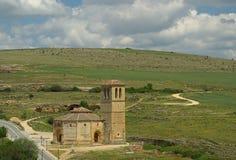Segovia La Vera Cruz van de kerk Stock Afbeeldingen