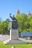 Segovia. Monument chef Candido Lopez Stock Photography