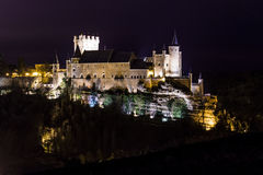 Segovia-Nächte Stockfotografie