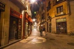 Segovia at night. Stock Images