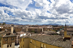 Segovia Old City Stock Photo
