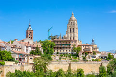 Segovia Old town Royalty Free Stock Images