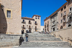 Segovia, pejzaż miejski Zdjęcie Royalty Free