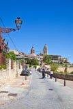 Segovia, pejzaż miejski Fotografia Stock