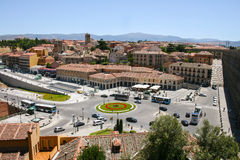 Segovia, Plaza Artillerie Στοκ Εικόνες
