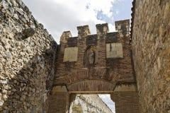 Segovia Roman Aqueduct Stock Photography