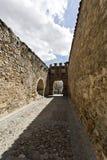 Segovia Roman Aqueduct Royalty Free Stock Images