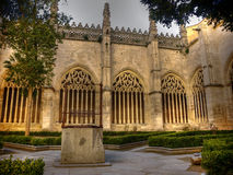 Segovia's Cathedral, Spain. Old well at main court of Segovia's Cathedral, Spain Royalty Free Stock Images