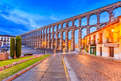 Segovia, Spagna Fotografie Stock