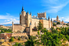 Segovia, Spain. Stock Photos