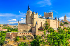 Segovia, Spain. Royalty Free Stock Images