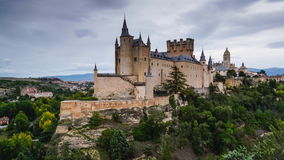 Segovia, Spain stock footage