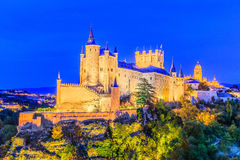 Segovia, Spain. Royalty Free Stock Photo