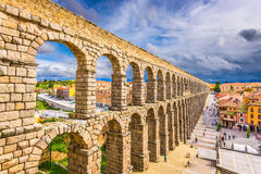 Segovia, Spain Aqueduct Royalty Free Stock Photography
