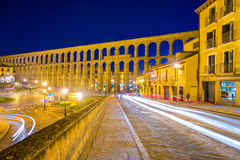 Segovia Spain Aqueduct Royalty Free Stock Image