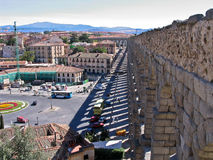 Segovia Spain Aqueduct Stock Photos