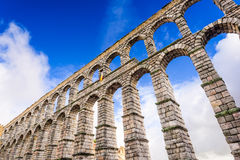 Segovia Spain Aqueduct Royalty Free Stock Photography
