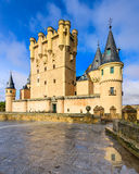 Segovia Spain Castle Stock Photography
