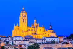 Segovia, Spain. Royalty Free Stock Image