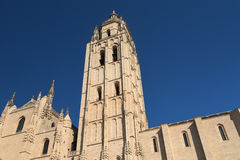 Segovia Spain: cathedral Stock Images