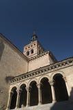 Segovia Spain: church of San Martin Stock Images