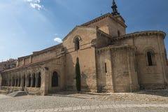 Segovia Spain: church of San Millan Stock Images