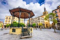 Segovia Spain Courtyard Royalty Free Stock Photography
