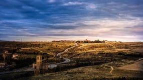 Segovia,Spain. Segovia historic city of northwest of Madrid stock photography
